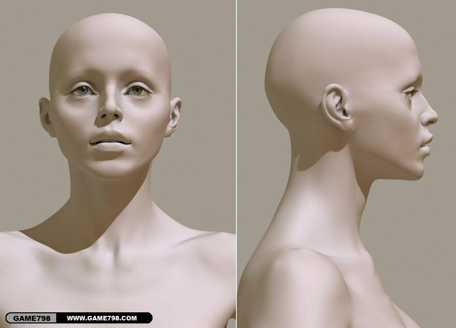 初中女生人体囹f_3d女人体 参考