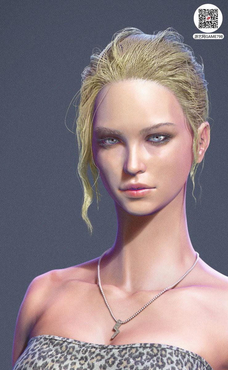 妓女3D模型下载