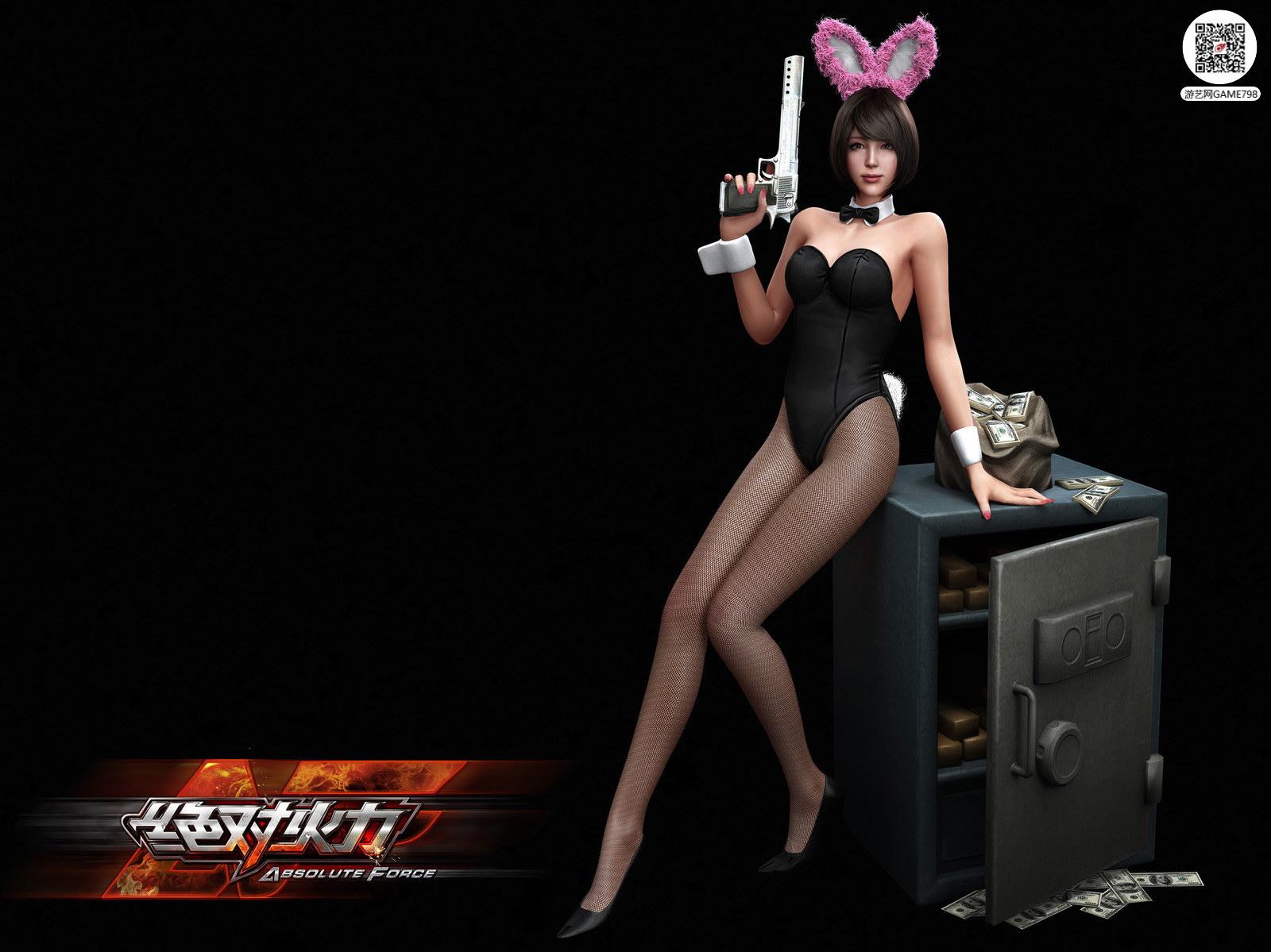 兔女郎次世代3D美女模型下载