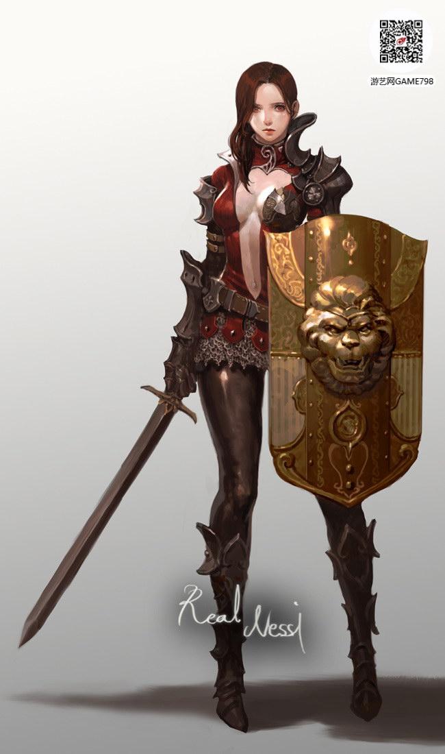 欧美风格CG美女下载