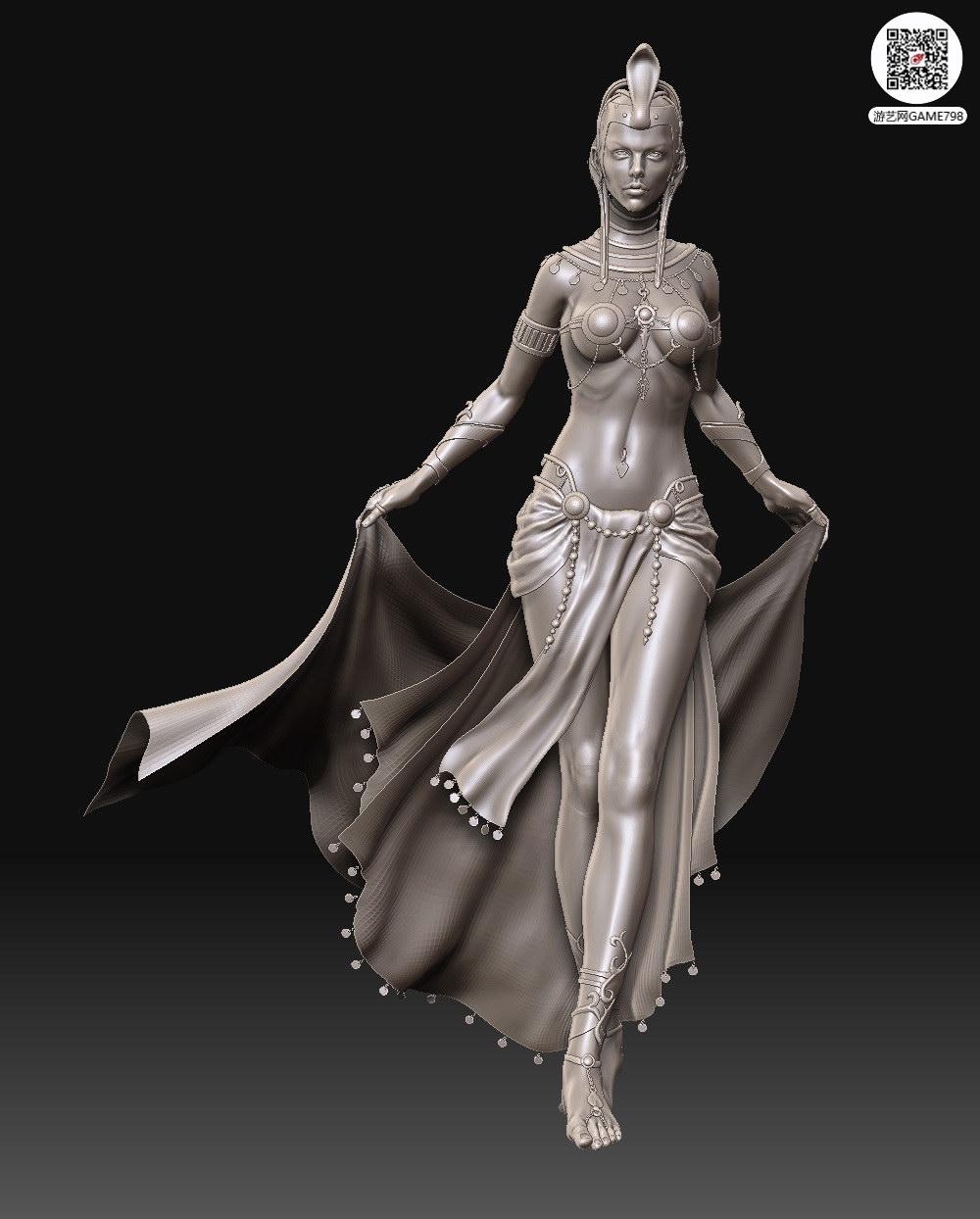 古代CG3D模型下载