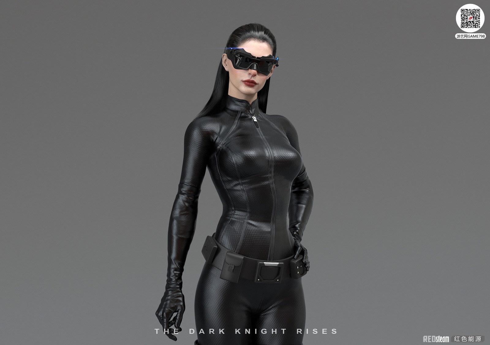 猫女电影3D模型下载