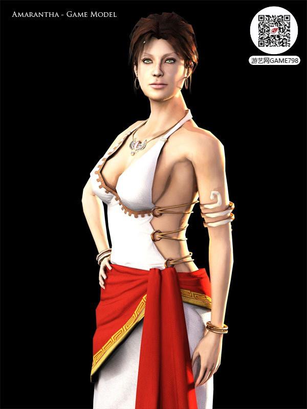 古希腊美女3D模型