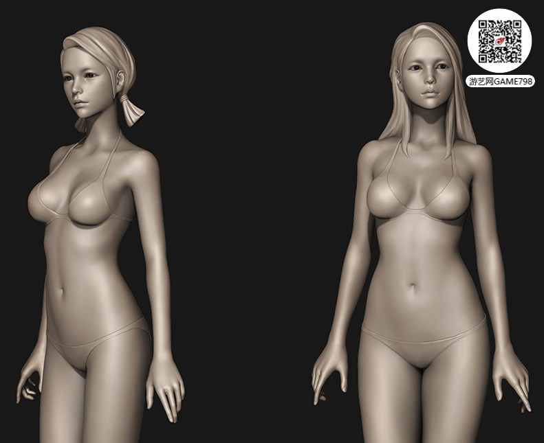 性感3D美女模型文件