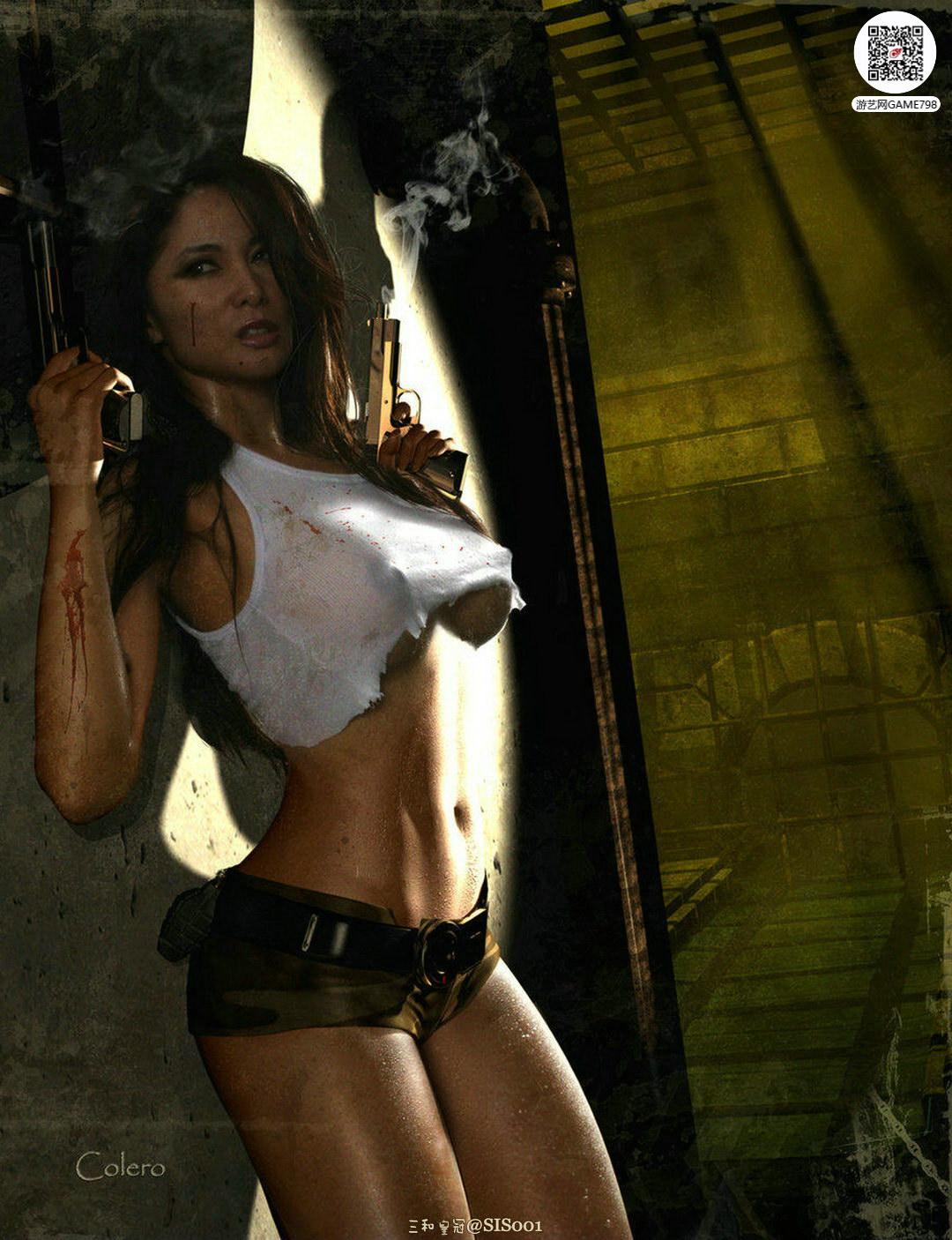 maxcg美女3D模型下载