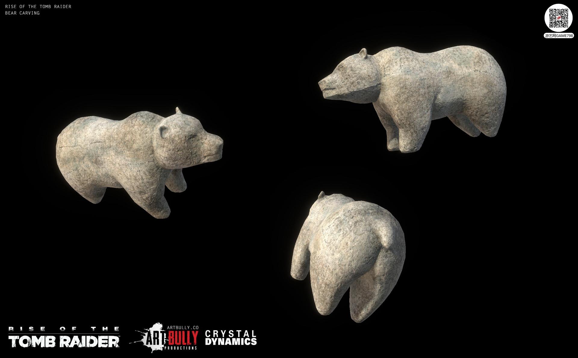 3A大作古墓丽影:崛起动物次世代3D模型下载