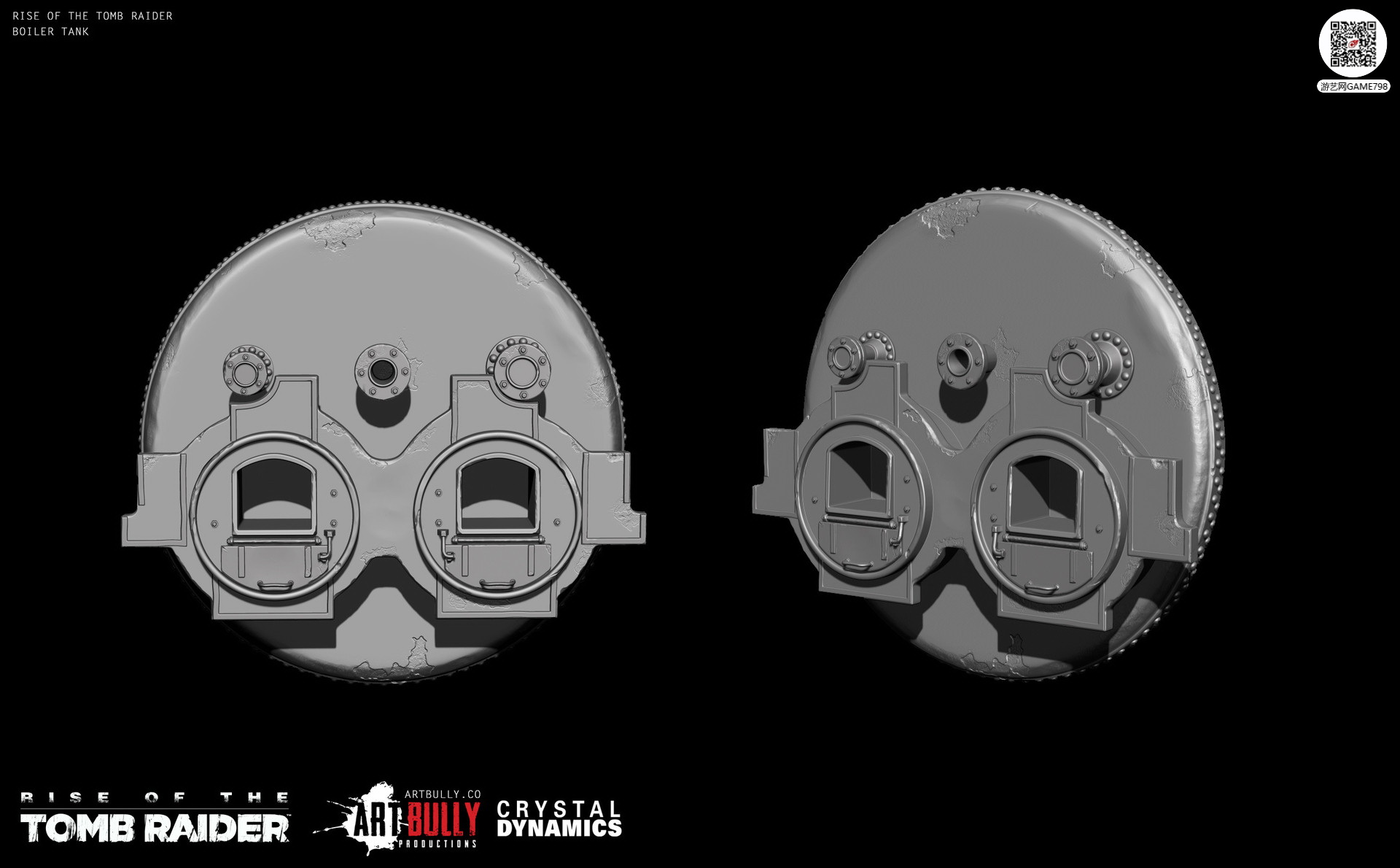 3A大作古墓丽影:崛起物件次世代3D模型下载