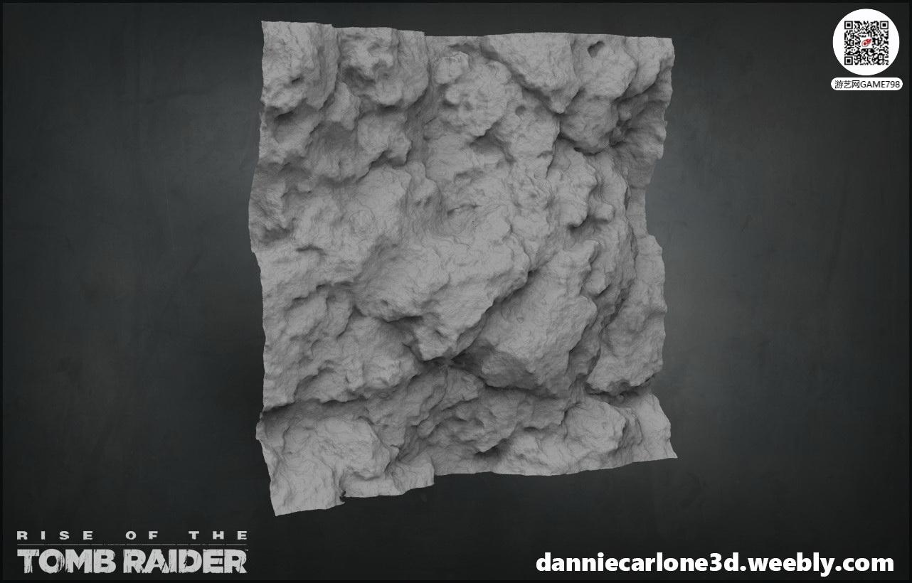 3A大作古墓丽影:崛起场景道具次世代3D模型下载