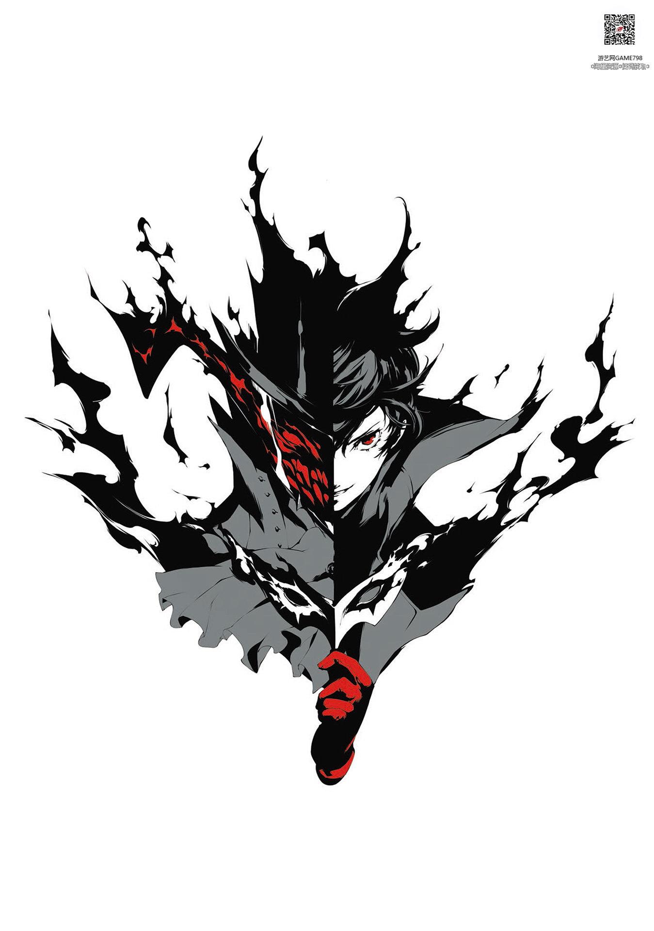 010_关注游艺网公众号获海量资源_日式游戏风格设定女神异闻录5二次元角色设定.jpeg