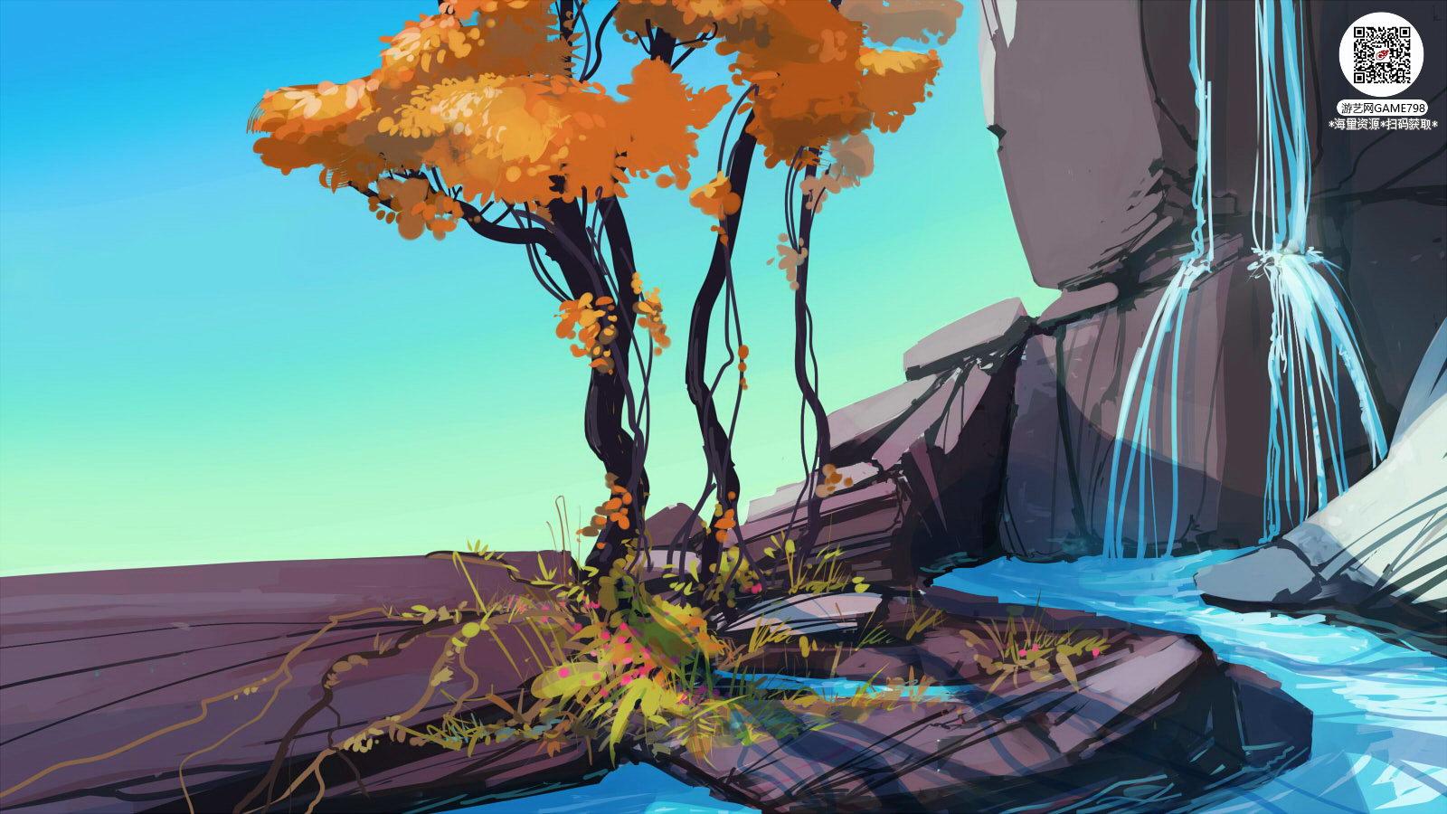 032_关注游艺网公众号获海量资源_风格独特的原画概念设定Q版卡通风格异世界科幻风格设计.jpg