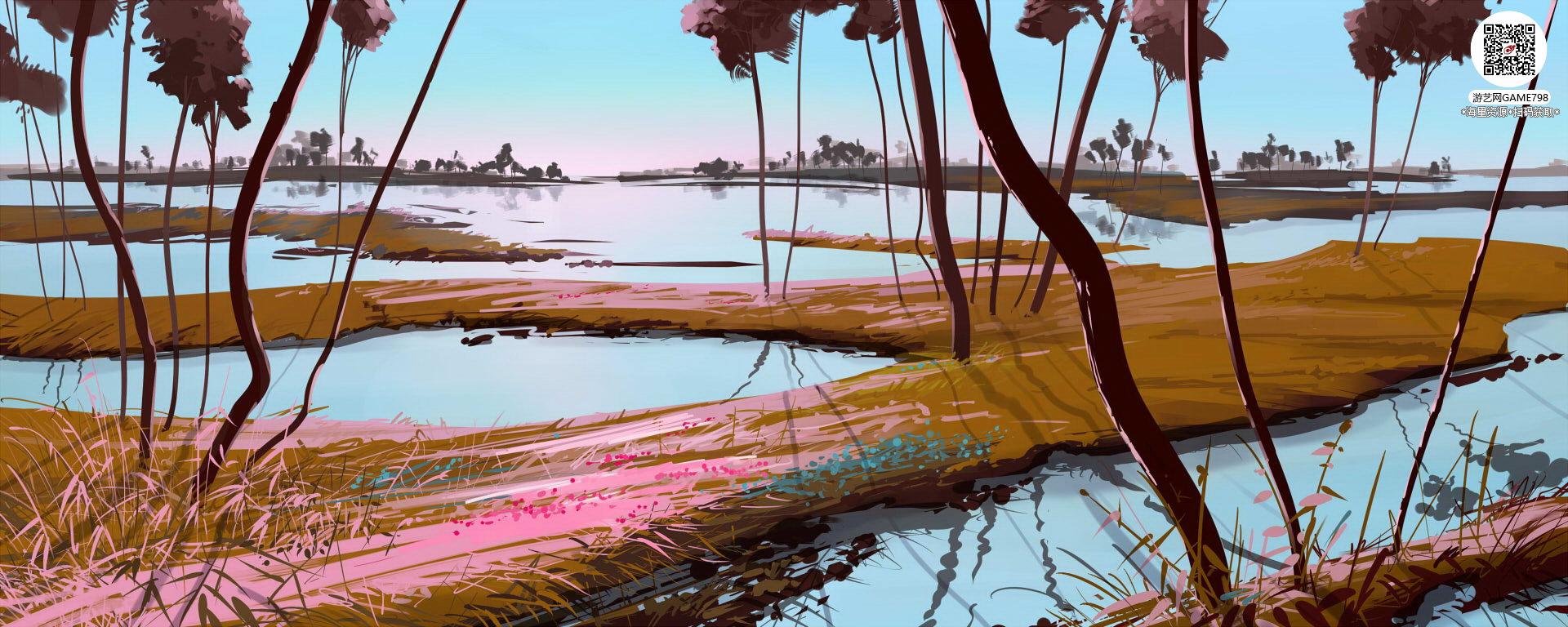 033_关注游艺网公众号获海量资源_风格独特的原画概念设定Q版卡通风格异世界科幻风格设计.jpg
