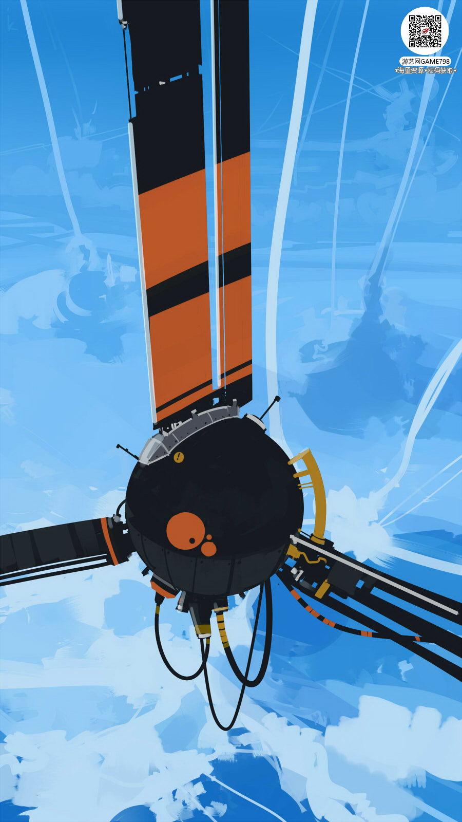 041_关注游艺网公众号获海量资源_风格独特的原画概念设定Q版卡通风格异世界科幻风格设计.jpg