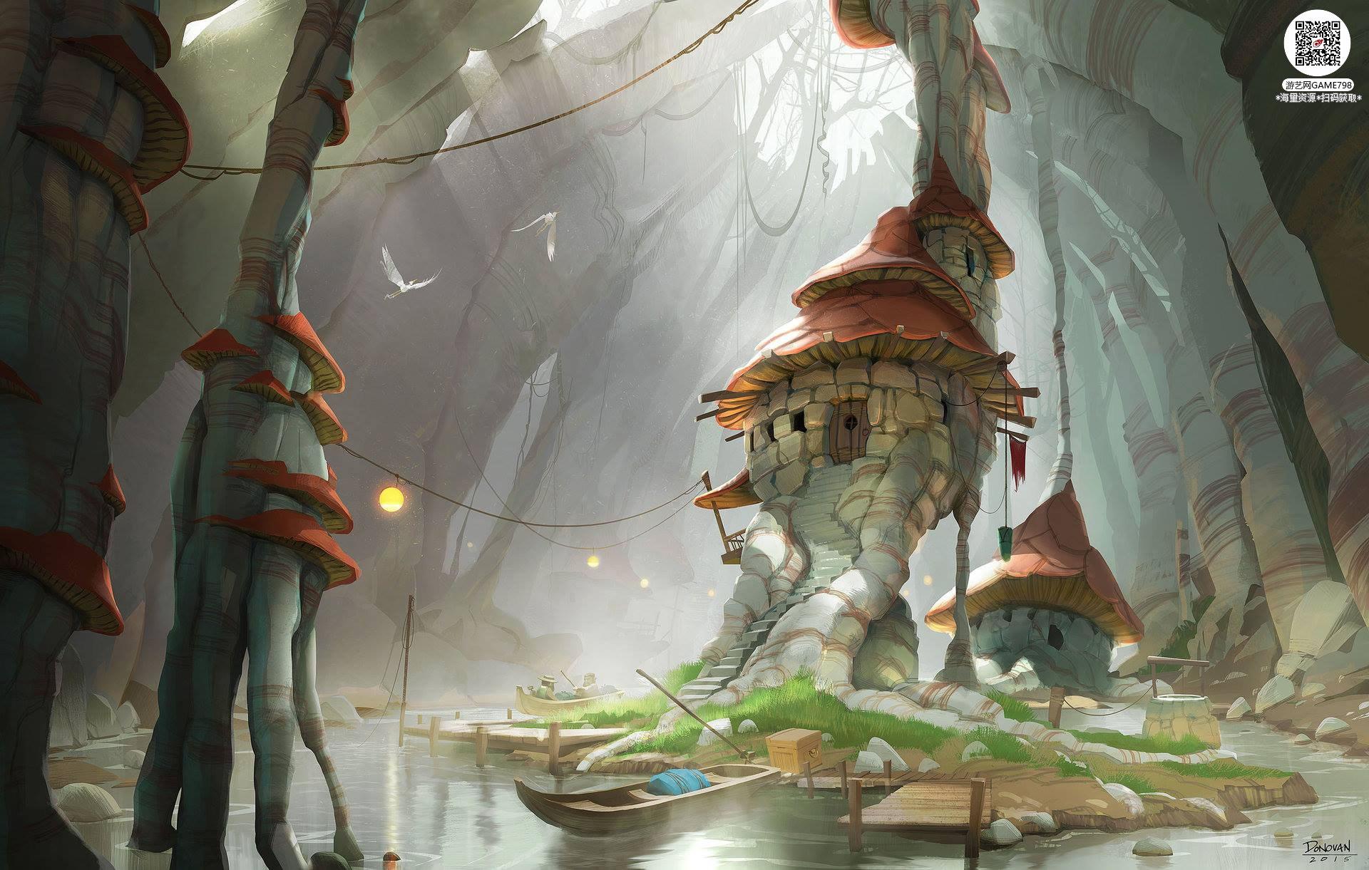 051_关注游艺网公众号获海量资源_风格独特的原画概念设定Q版卡通风格异世界科幻风格设计.jpg