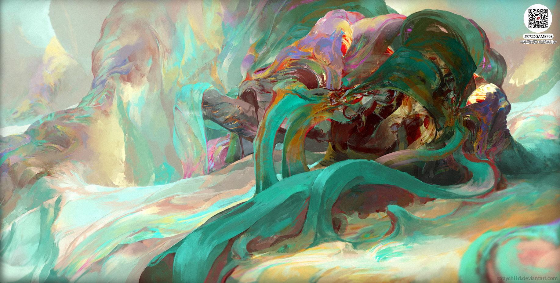 057_关注游艺网公众号获海量资源_风格独特的原画概念设定Q版卡通风格异世界科幻风格设计.jpg