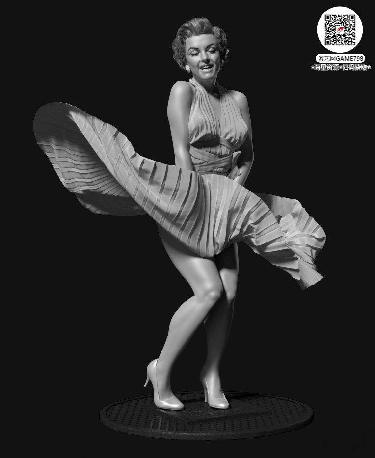 000_关注游艺网公众号获海量资源_3D网游次世代模型大图参考机械怪兽科幻ZBrush4R8雕刻.jpg