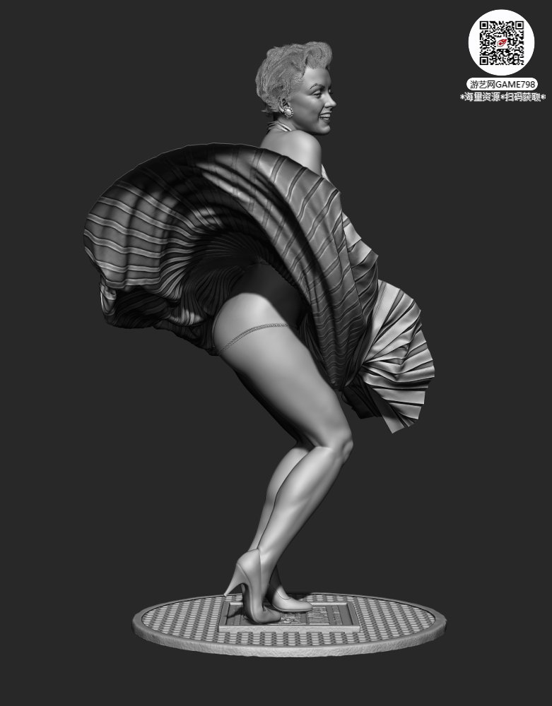 000d_关注游艺网公众号获海量资源_3D网游次世代模型大图参考机械怪兽科幻ZBrush4R8雕.jpg