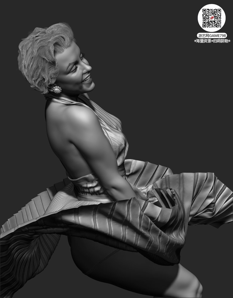000f_关注游艺网公众号获海量资源_3D网游次世代模型大图参考机械怪兽科幻ZBrush4R8雕.jpg