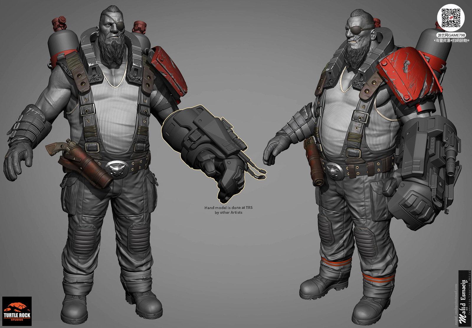 013_关注游艺网公众号获海量资源_3D网游次世代模型大图参考机械怪兽科幻ZBrush4R8雕刻.jpg