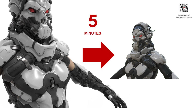 038_关注游艺网公众号获海量资源_3D网游次世代模型大图参考机械怪兽科幻ZBrush4R8雕刻.jpg