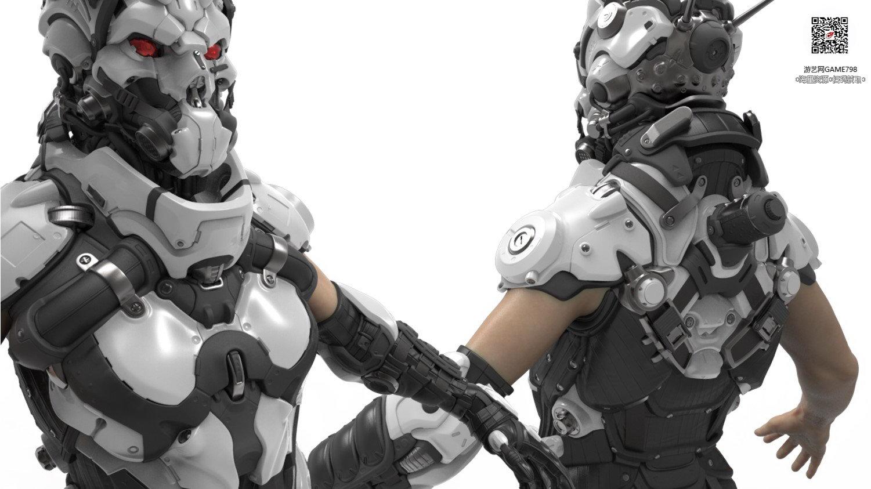 042_关注游艺网公众号获海量资源_3D网游次世代模型大图参考机械怪兽科幻ZBrush4R8雕刻.jpg