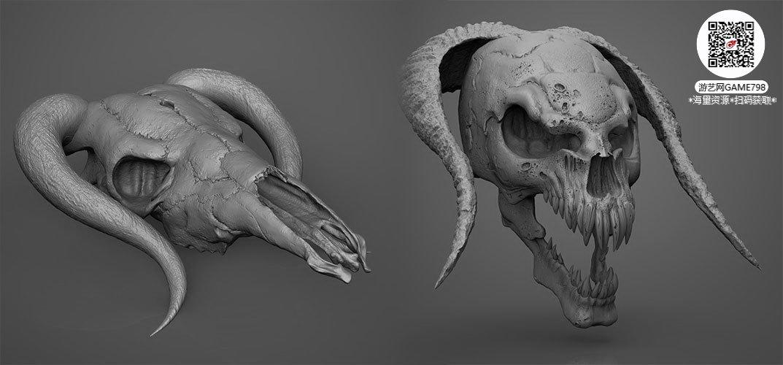 051_关注游艺网公众号获海量资源_3D网游次世代模型大图参考机械怪兽科幻ZBrush4R8雕刻.jpg