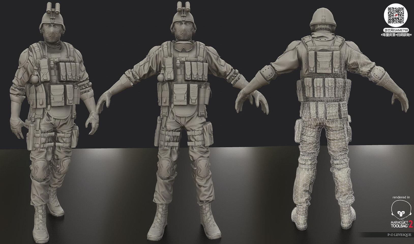 053_关注游艺网公众号获海量资源_3D网游次世代模型大图参考机械怪兽科幻ZBrush4R8雕刻.jpg