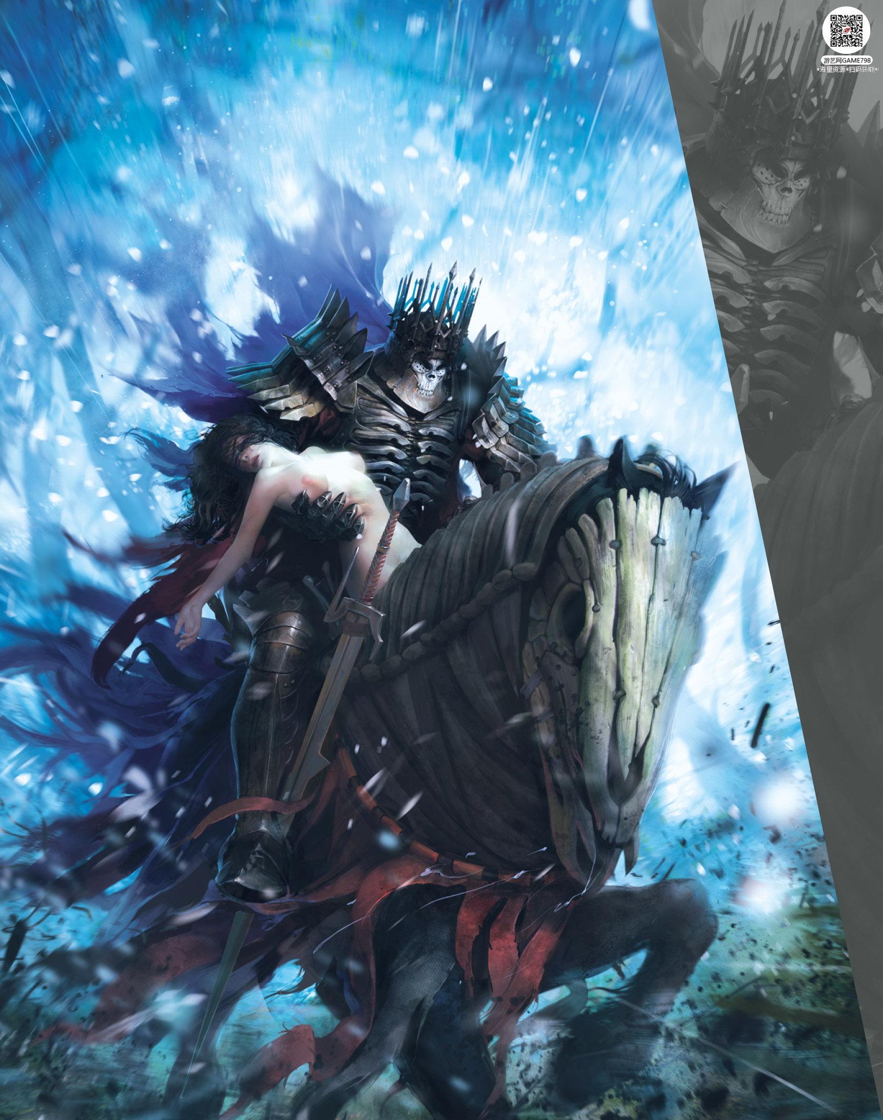005_关注游艺网公众号获海量资源_次世代游戏巫师3(Witcher)官方原画概念设定.jpg