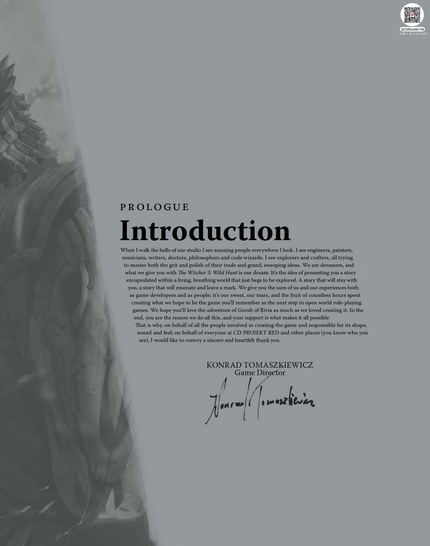 006_关注游艺网公众号获海量资源_次世代游戏巫师3(Witcher)官方原画概念设定.jpg