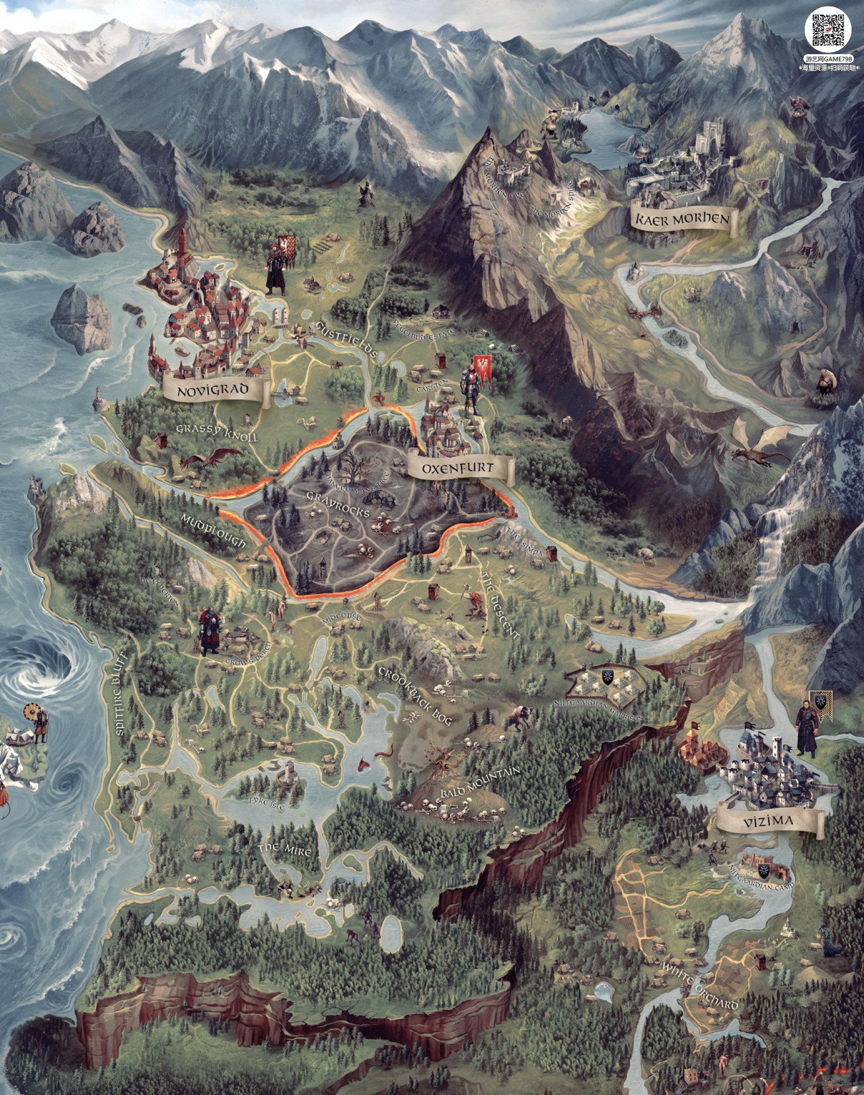 008_关注游艺网公众号获海量资源_次世代游戏巫师3(Witcher)官方原画概念设定.jpg