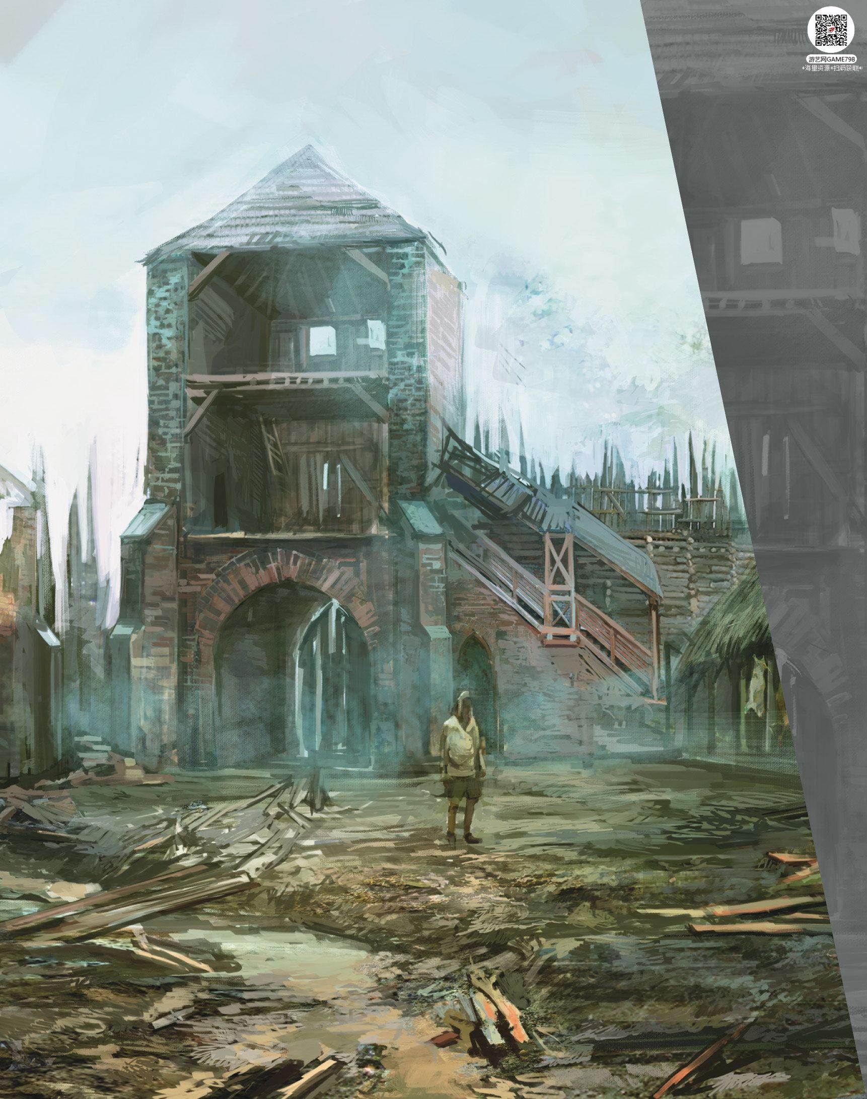 015_关注游艺网公众号获海量资源_次世代游戏巫师3(Witcher)官方原画概念设定.jpg
