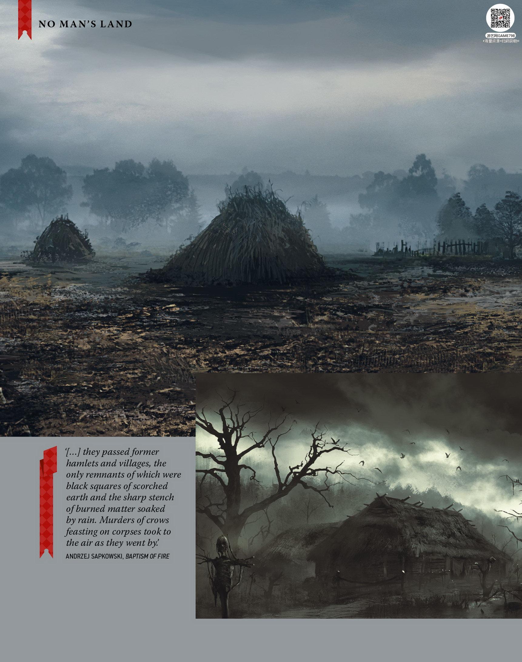 017_关注游艺网公众号获海量资源_次世代游戏巫师3(Witcher)官方原画概念设定.jpg