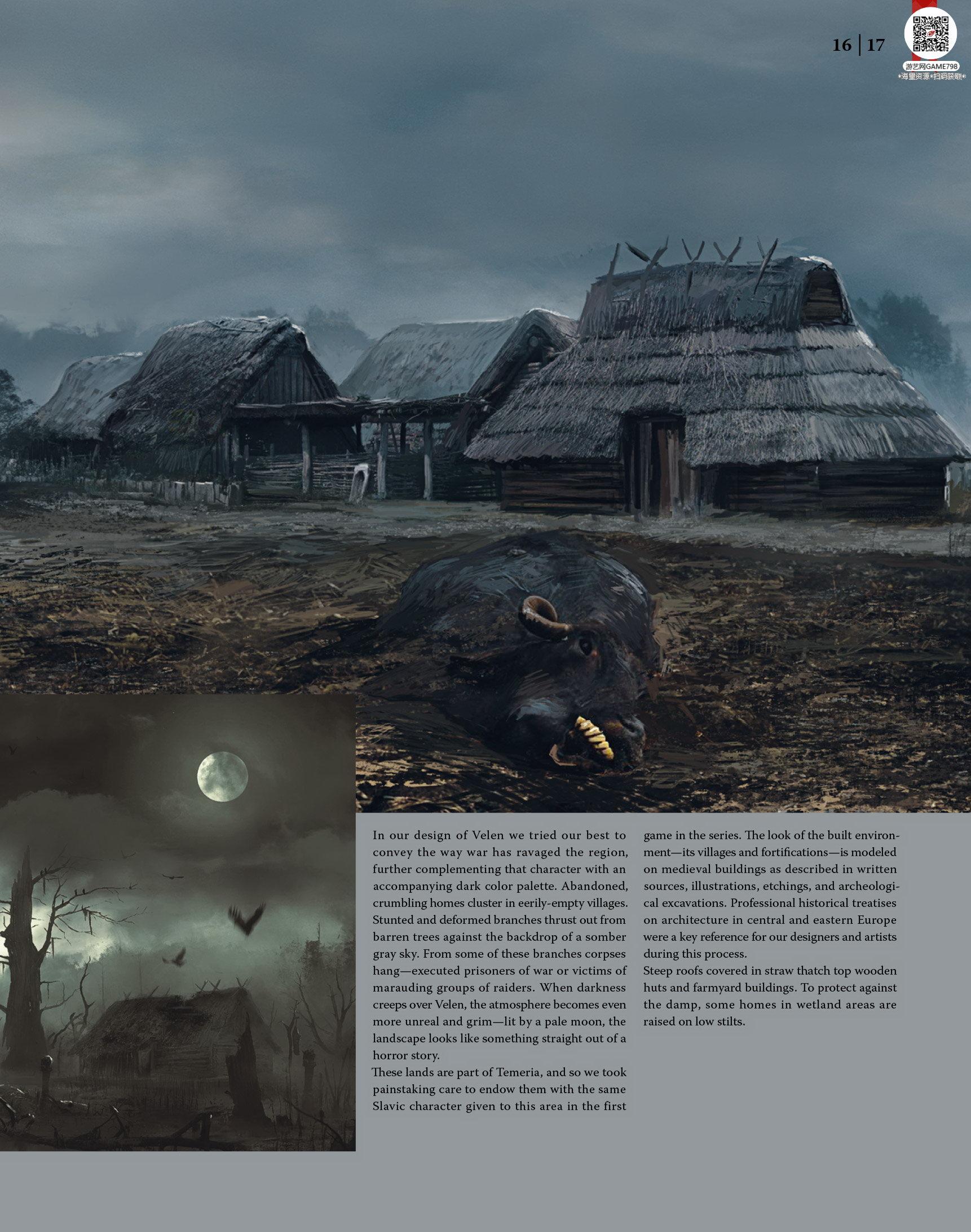 018_关注游艺网公众号获海量资源_次世代游戏巫师3(Witcher)官方原画概念设定.jpg