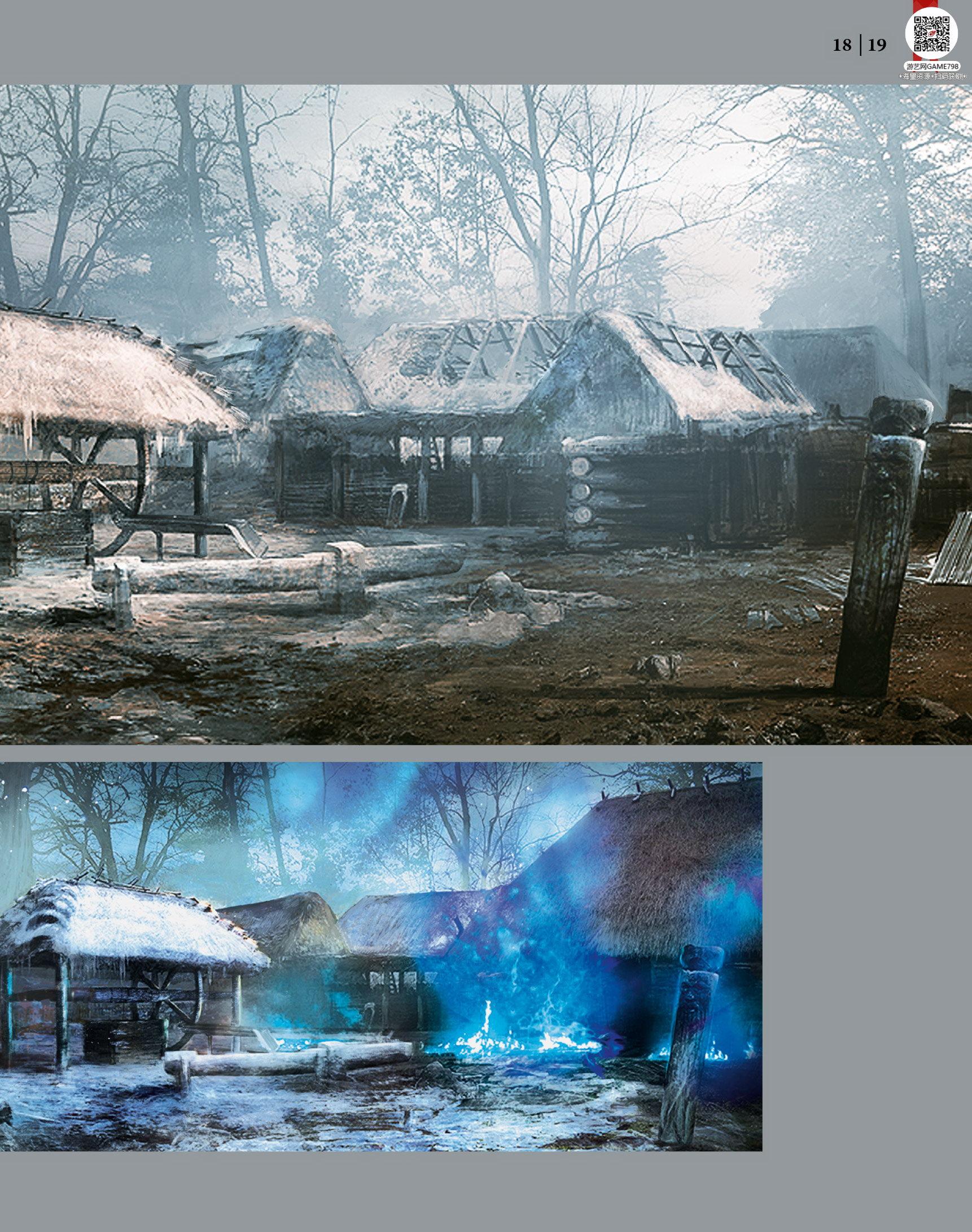 020_关注游艺网公众号获海量资源_次世代游戏巫师3(Witcher)官方原画概念设定.jpg