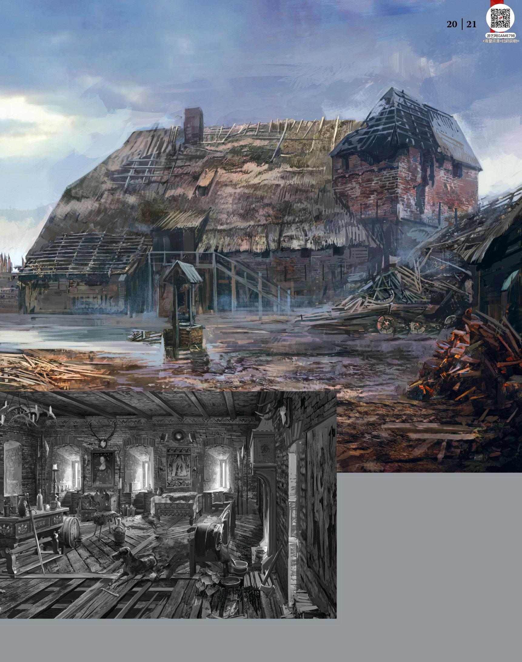 022_关注游艺网公众号获海量资源_次世代游戏巫师3(Witcher)官方原画概念设定.jpg