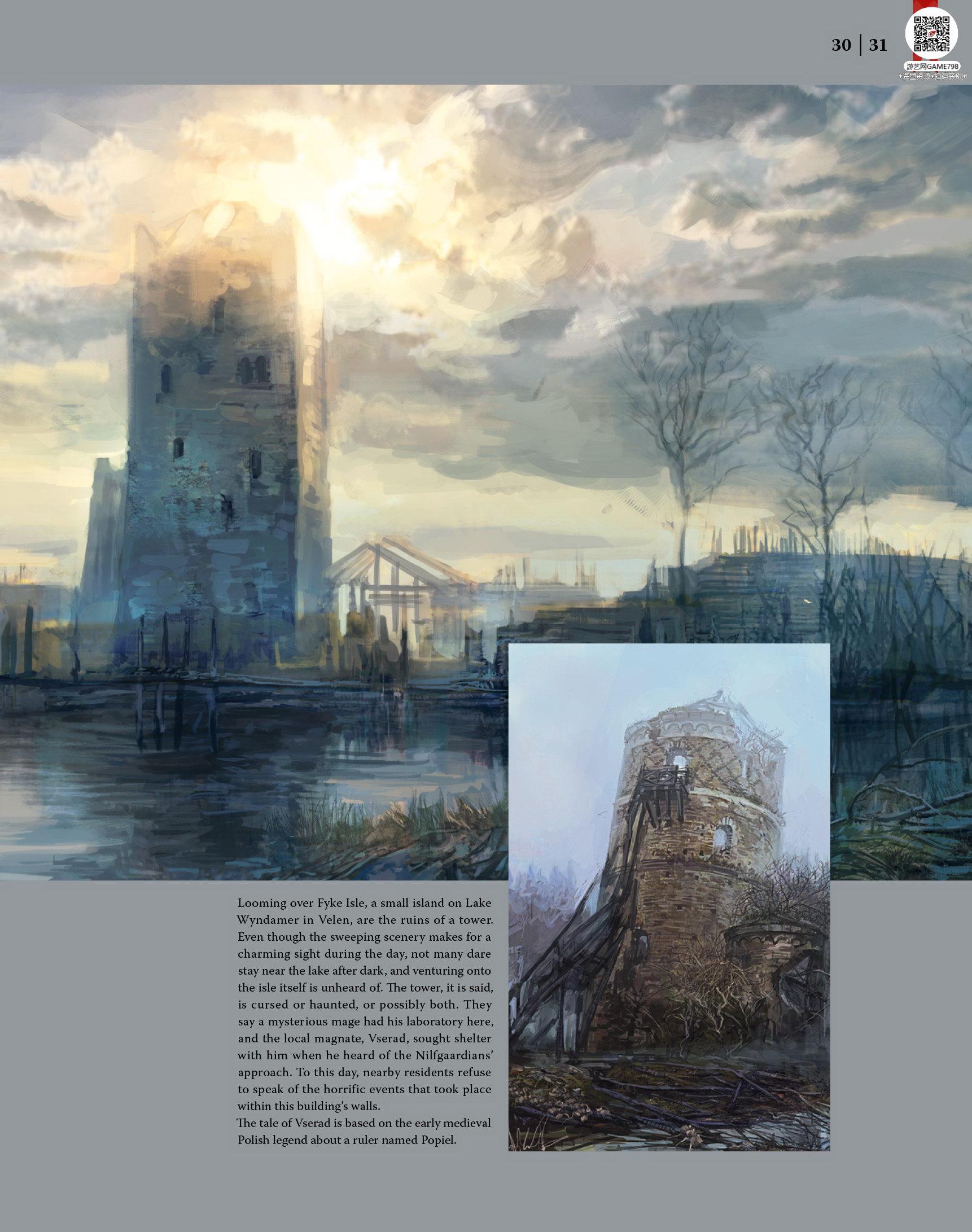 032_关注游艺网公众号获海量资源_次世代游戏巫师3(Witcher)官方原画概念设定.jpg