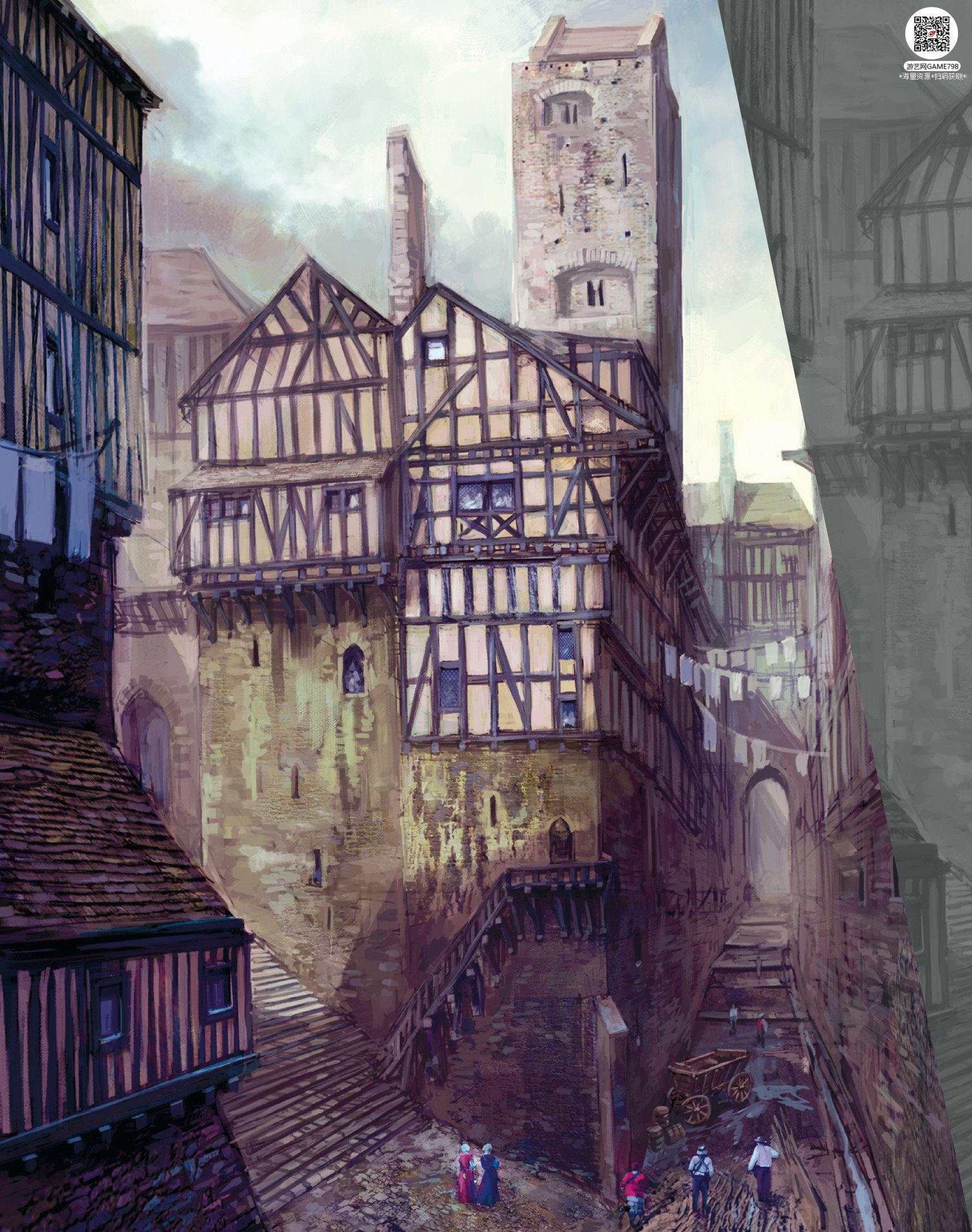 033_关注游艺网公众号获海量资源_次世代游戏巫师3(Witcher)官方原画概念设定.jpg