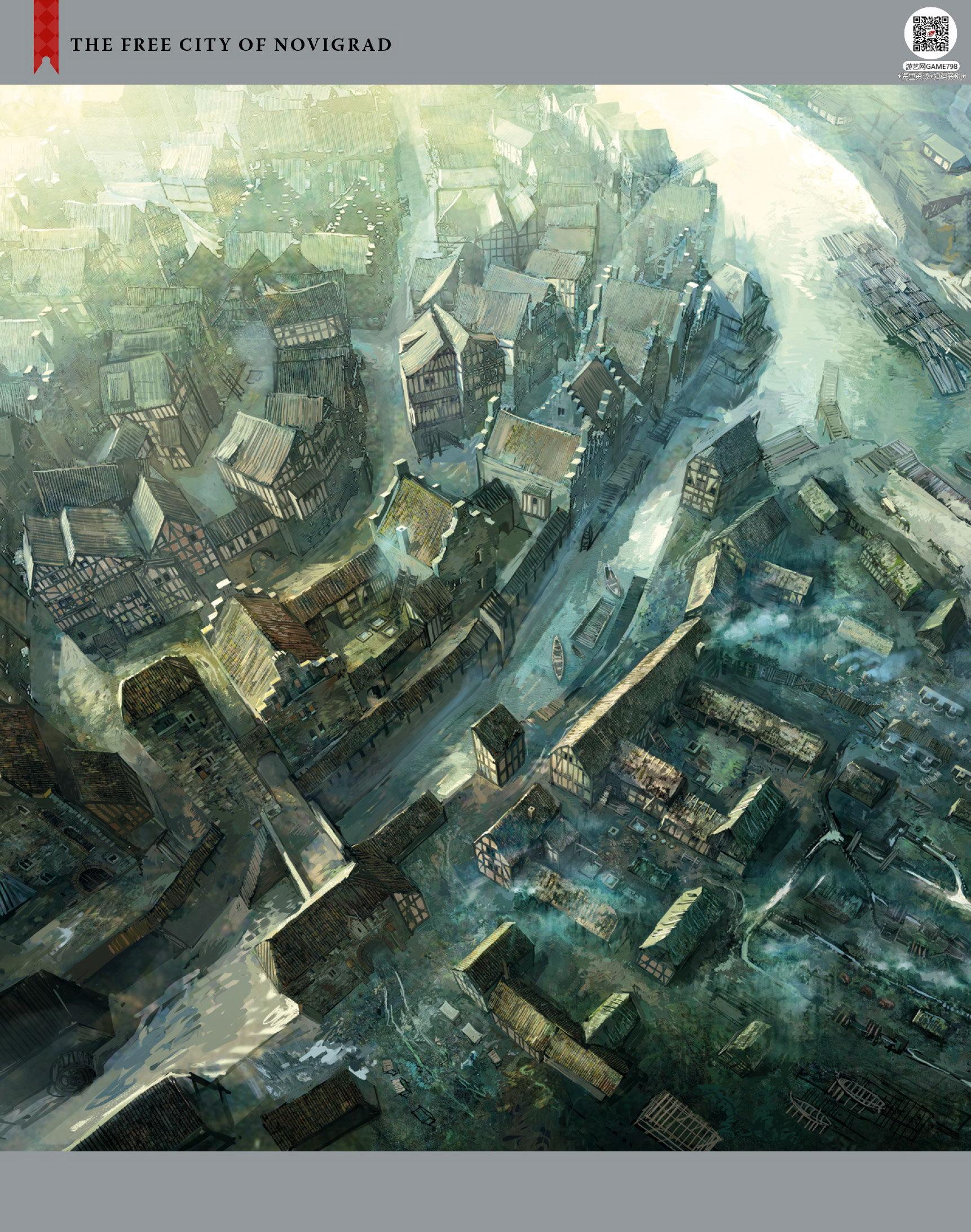 035_关注游艺网公众号获海量资源_次世代游戏巫师3(Witcher)官方原画概念设定.jpg