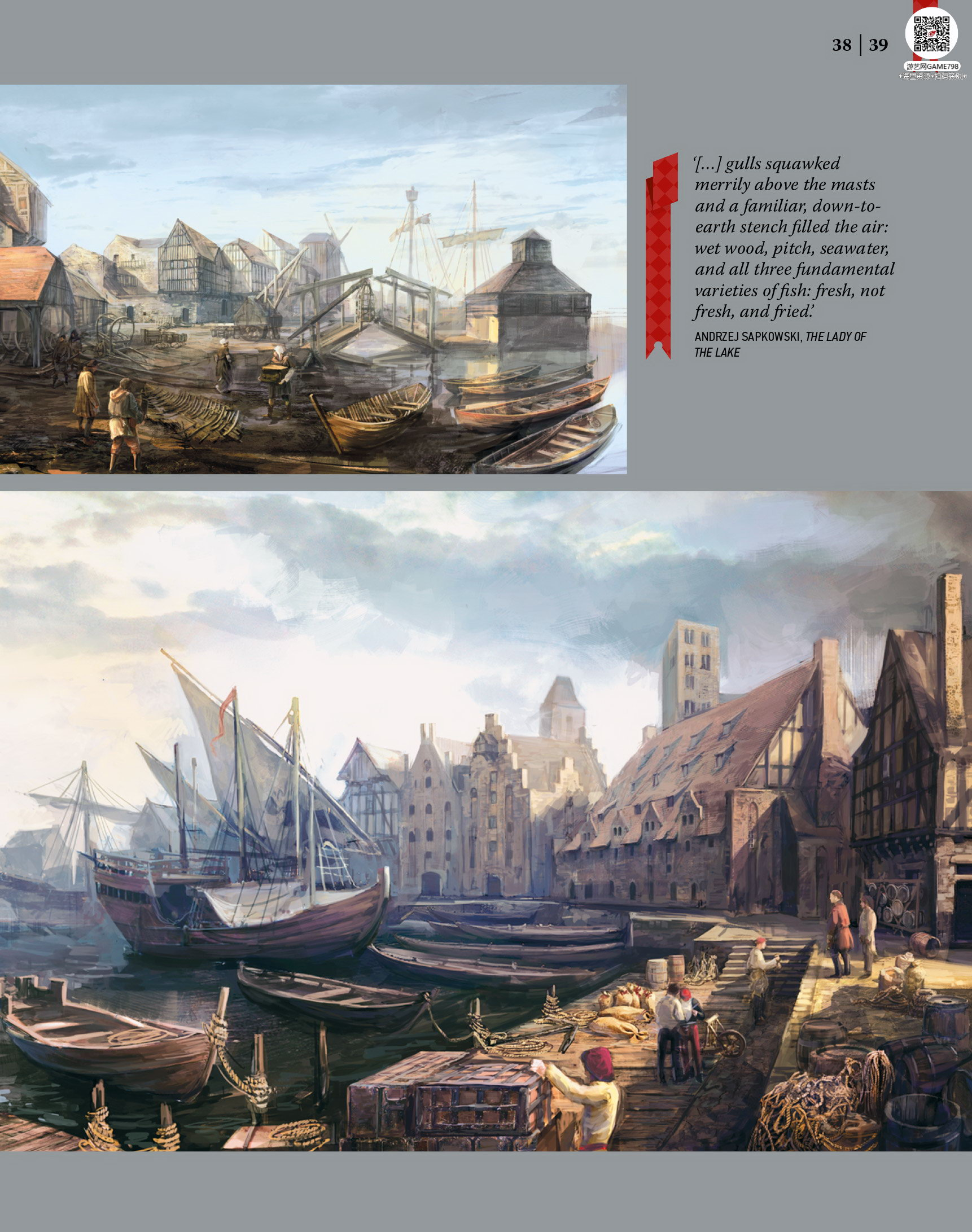 040_关注游艺网公众号获海量资源_次世代游戏巫师3(Witcher)官方原画概念设定.jpg
