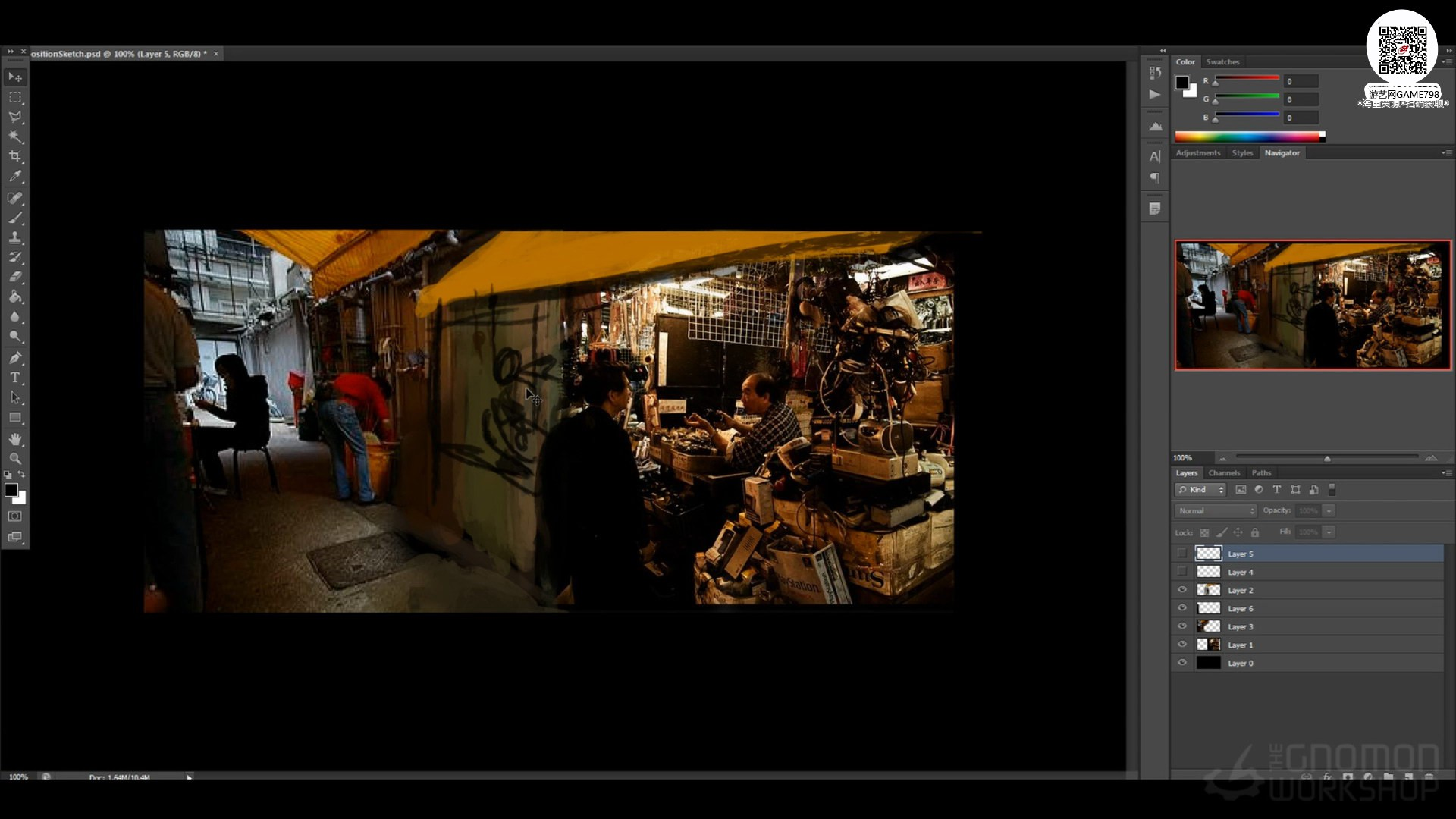 002_关注-游艺网GAME798海量资源下载【视频教程】MAYA制作科幻场景.jpg