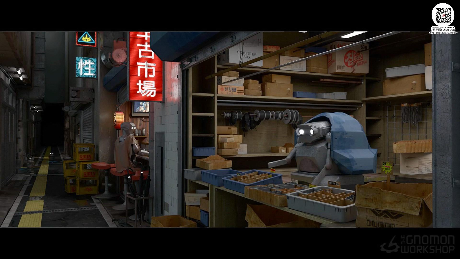013_关注-游艺网GAME798海量资源下载【视频教程】MAYA制作科幻场景.jpg