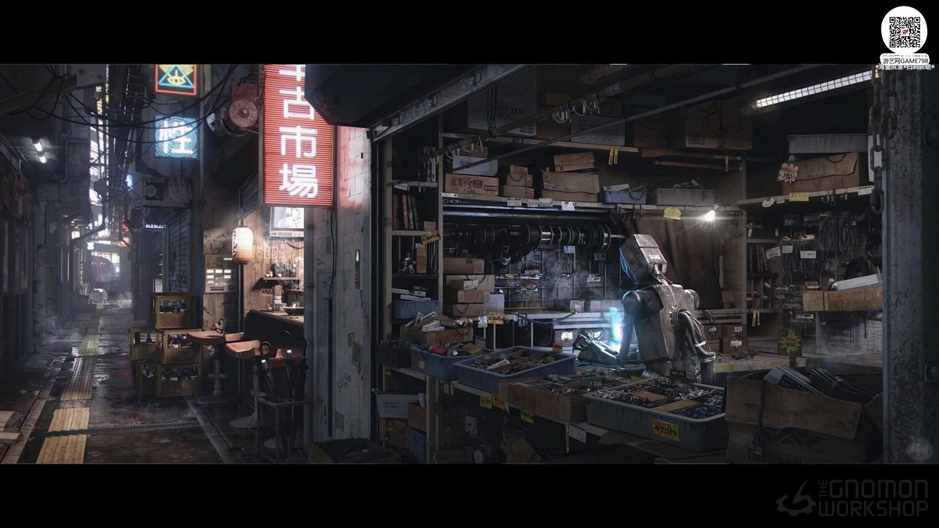 015_关注-游艺网GAME798海量资源下载【视频教程】MAYA制作科幻场景.jpg