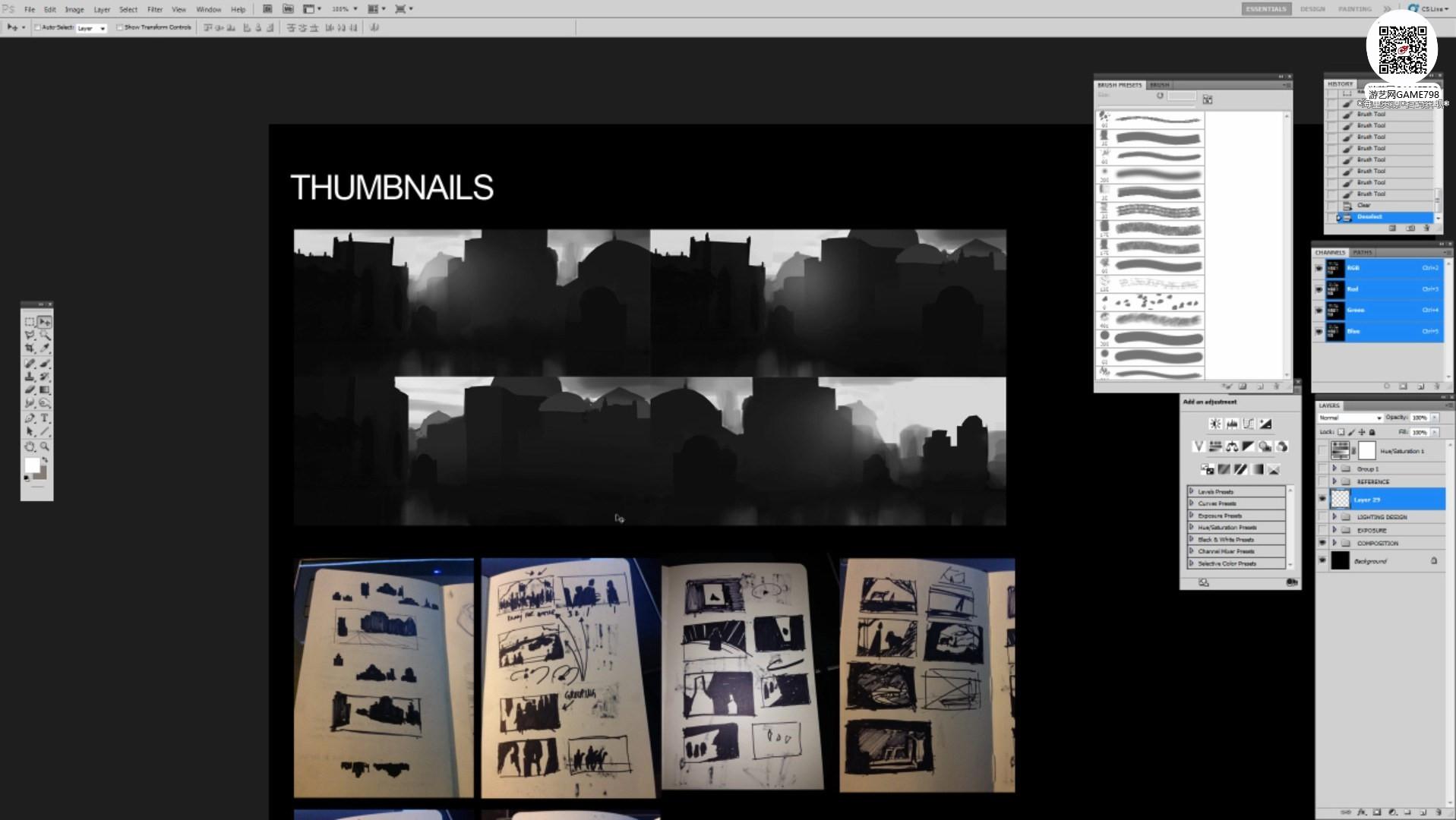 002_关注-游艺网GAME798海量资源下载【视频教程】超写实场景设定制作流程.jpg