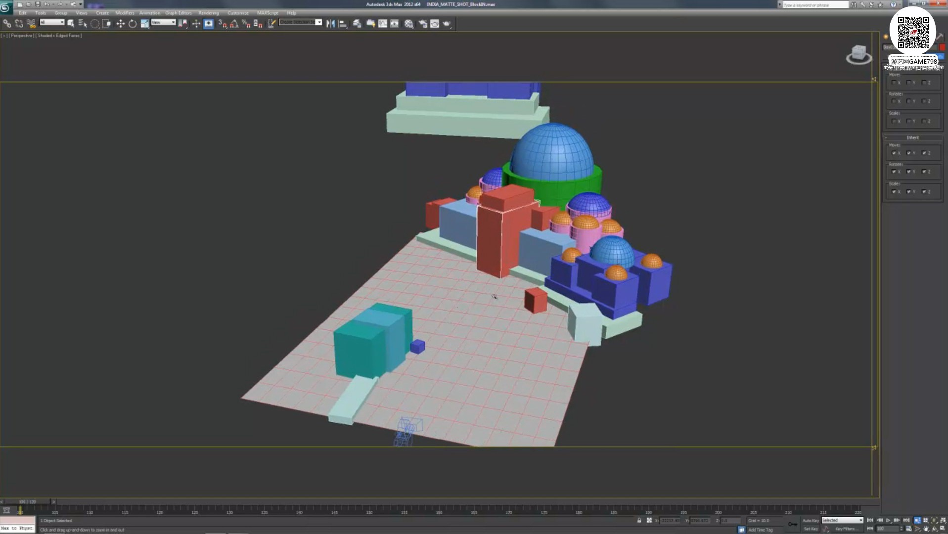 004_关注-游艺网GAME798海量资源下载【视频教程】超写实场景设定制作流程.jpg