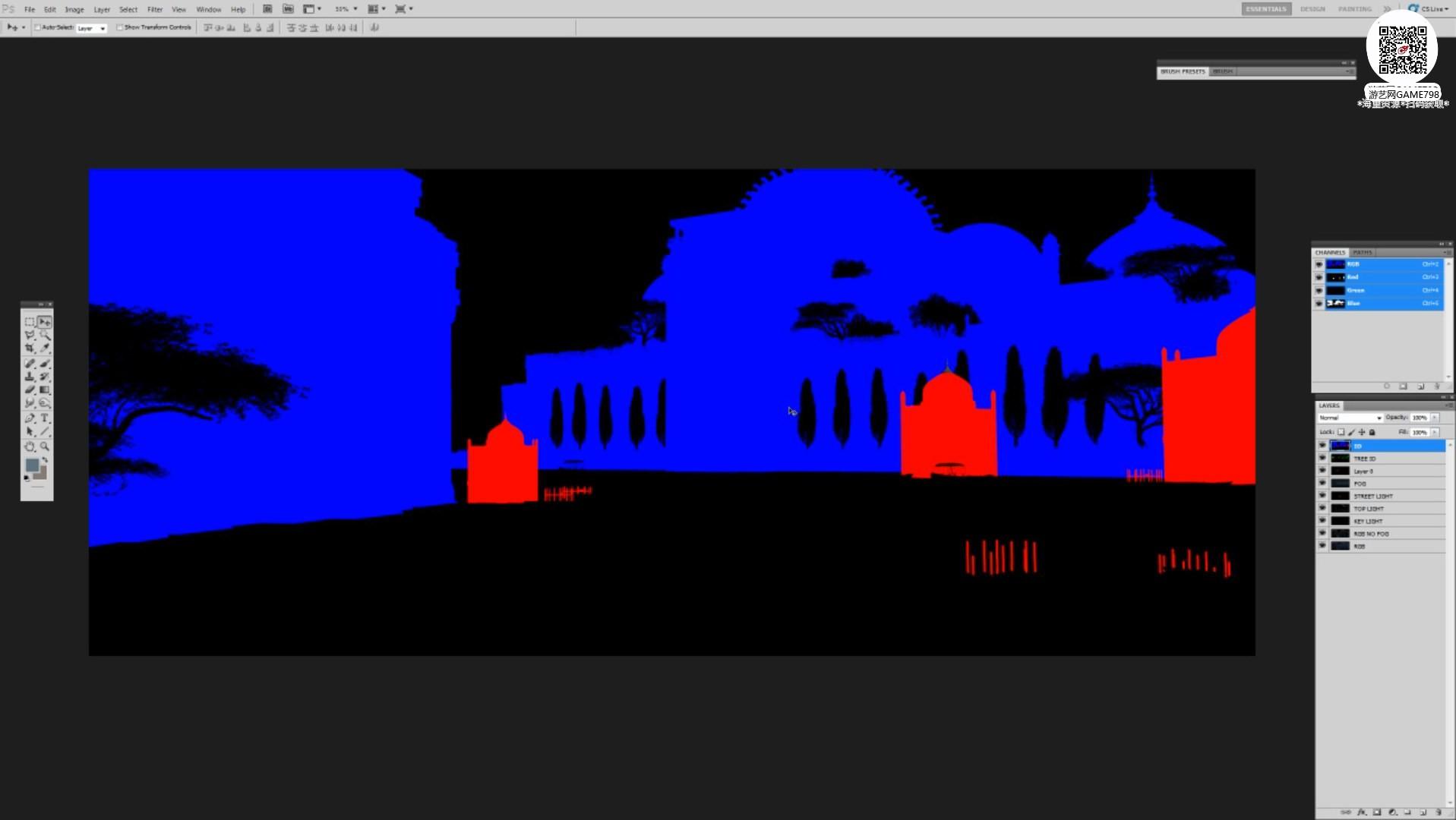 021_关注-游艺网GAME798海量资源下载【视频教程】超写实场景设定制作流程.jpg