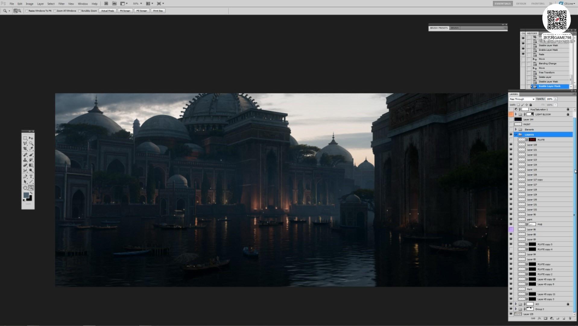 026_关注-游艺网GAME798海量资源下载【视频教程】超写实场景设定制作流程.jpg