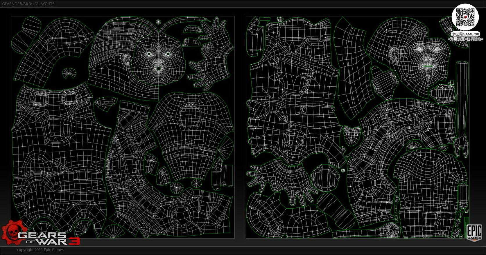 073_关注-游艺网GAME798海量资源下载【战争机器3|3D角色】经典角色设定.jpg