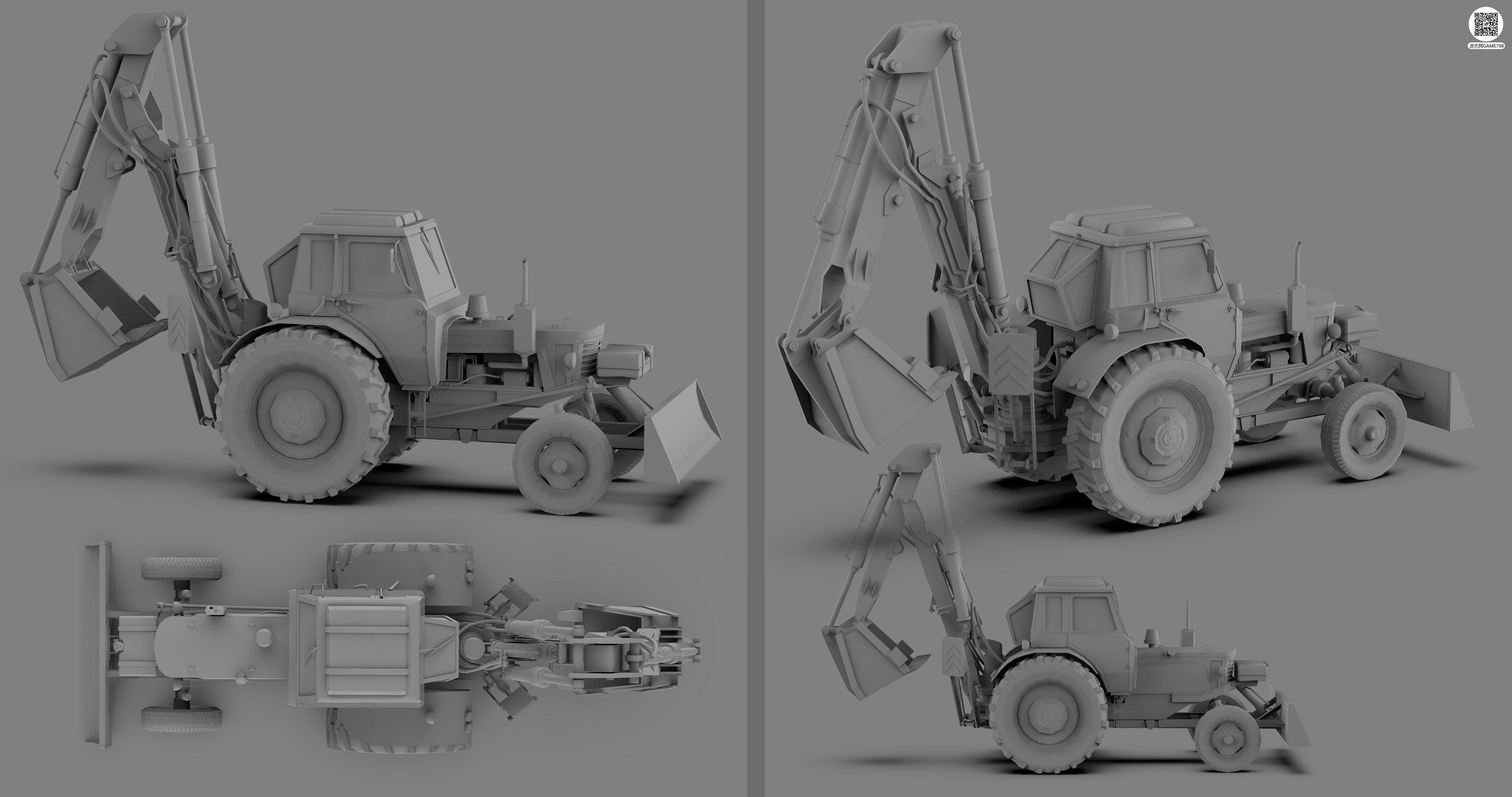 挖掘机-白模渲染图.jpg
