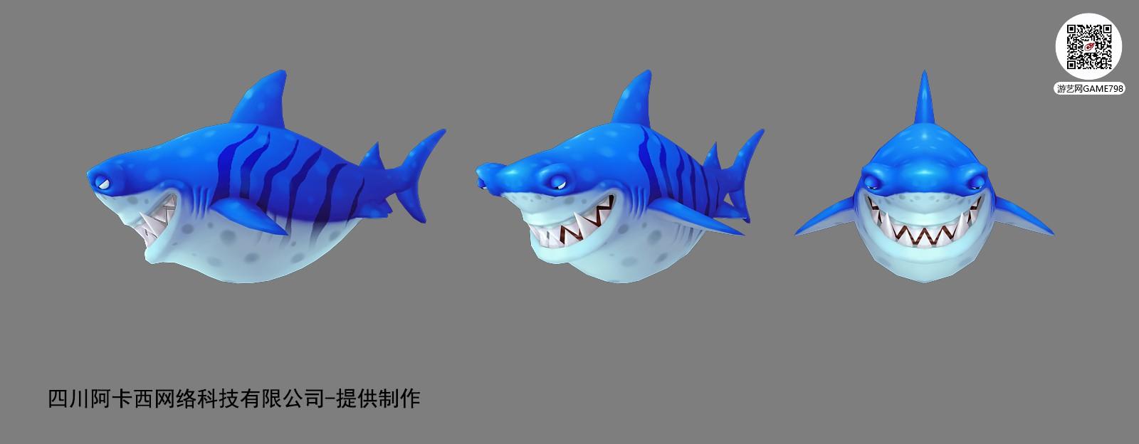 锤头鲨贴图截图-四川阿卡西网络.jpg