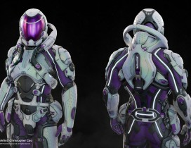 3A大作【质量效应:仙女座】3D角色、武器、场景、UI全套参考(530P)