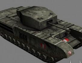 高清军事坦克3D模型